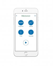 ميديسانا - جهاز تنبيه الكهربائي BT850  يعمل بتطبيق