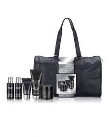 مجموعة هدية Skin Spa بالعنبر الأسود للرجال مع حقيبة - بايليس هاردينغ