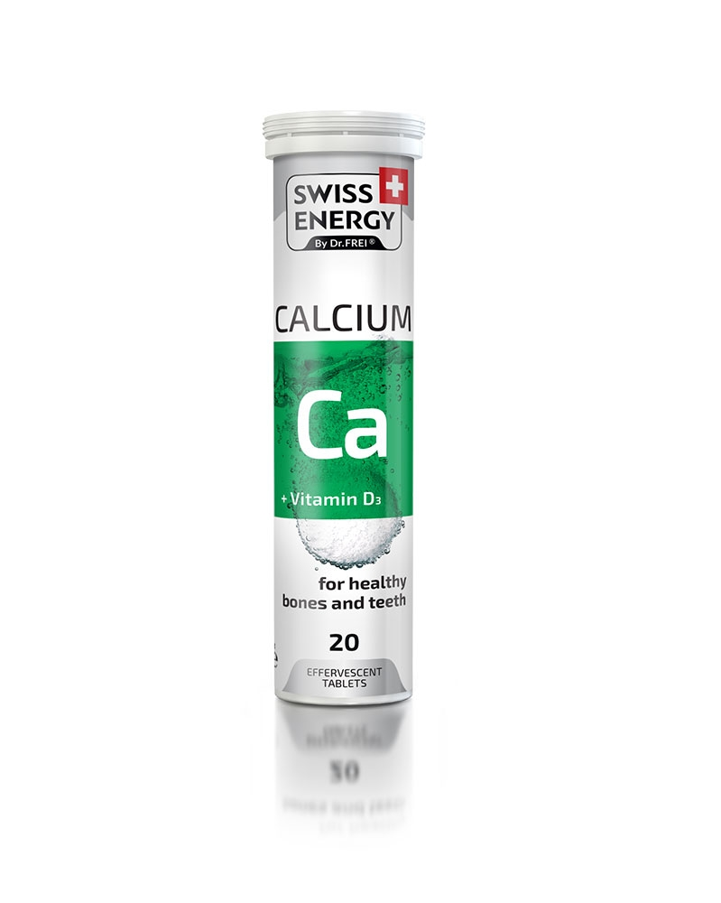 SWISS ENERGY - Calcium + Vitamine D3