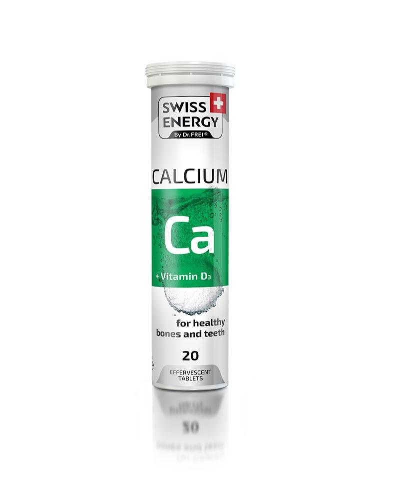 سويس إنارجي - D3 كالسيوم + فيتامين