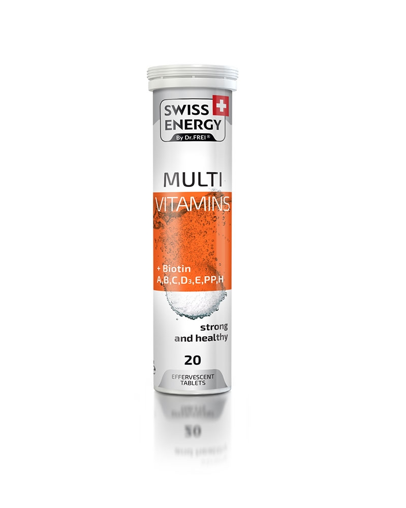 SWISS ENERGY - Multi-vitamines + Biotine