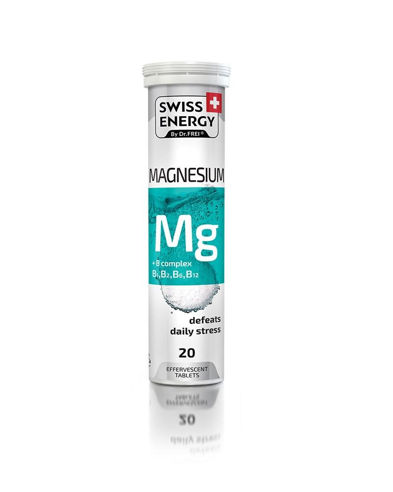 SWISS ENERGY - Vitamine Magnésium +B Complexe (B1.B2.B6.B12)