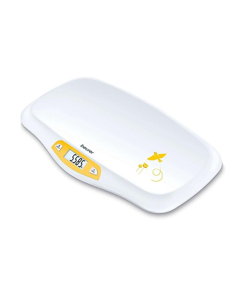 بيورر - جهاز قياس وزن الرضيع مع وظيفة الاستقرار التلقائي BY 80