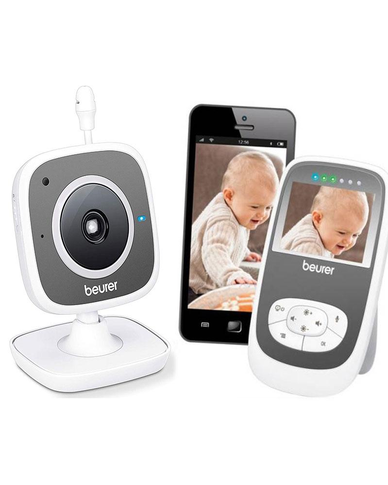 بيورر - جهاز BY 99 لمراقبة الأطفال بالفيديو 2 في 1