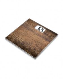 Pèse Personne en Verre GS 203 Wood - BEURER