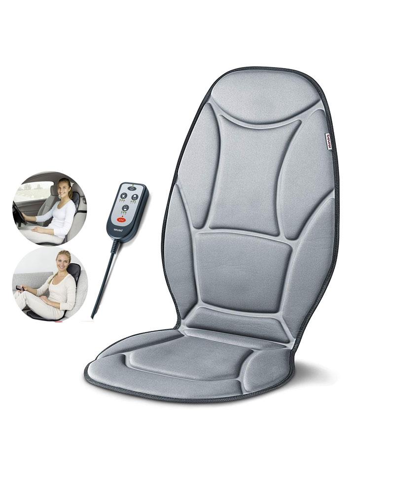 BEURER - Siége de Massage par Vibration MG 155 avec Adaptateur Voiture