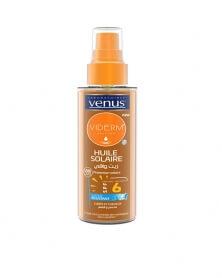 VENUS - Huile Solaire Viderm S+ Corps & Cheveux 125 ml