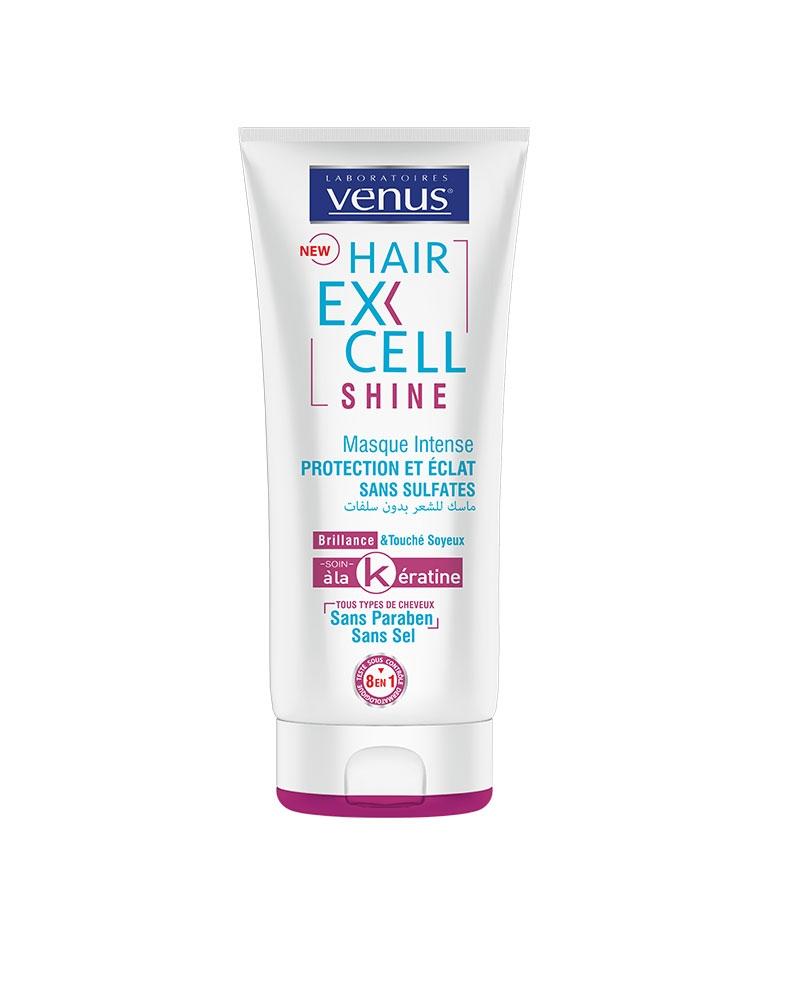 VENUS - Masque Intense HairExcell Shine Sans Sulfates 200 ml