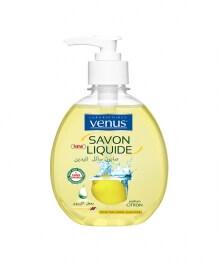 VENUS - Savon Liquide Transparent Parfum Citron 390 ml