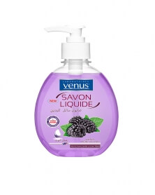 VENUS - Savon Liquide Transparent Parfum Mûre Sauvage 390 ml