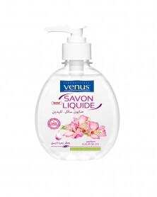 VENUS - Savon Liquide Transparent Parfum Fleur de Lys 390 ml