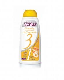 VENUS - Shampoing 3 en 1 à la Camomille 250 ml
