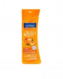 VENUS - Gel Douche Exfoliant Pêche et Abricot 250 g