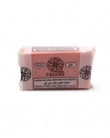 CELUXE - Savon Naturel Parfumé Pêche 100 g