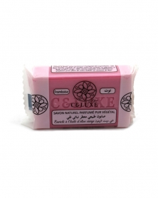 CELUXE - Savon Naturel Parfumé Framboise 100 g