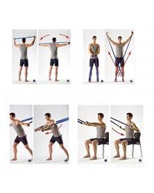 شريط المقاومة بالاتيكس لتمارين التمديد و تقوية الأجسام - وين ماكس