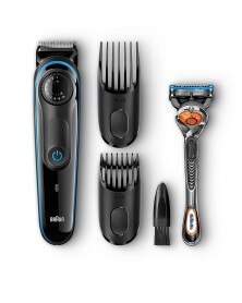 BRAUN - Coffret Tendeuse à Barbe BT3940 TS