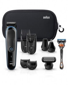 براون - مجموعة حلاقة الشعر متعددة الإستعمالات الكل في واحد MGK3080 TS