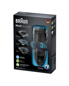 براون - آلة حلاقة الشعر 2 في 1 متعددة الوضائف MG 5050