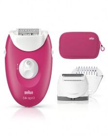 براون - آلة نزع شعر الساقين و الجسم Silk-épil 3-3415 GS