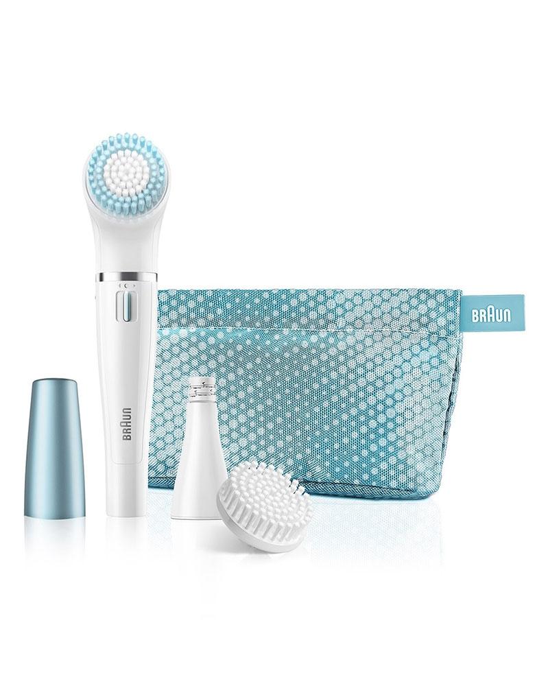 براون - آلة نزع الشعر و فرشاة لتنظيف الوجه SE 832E