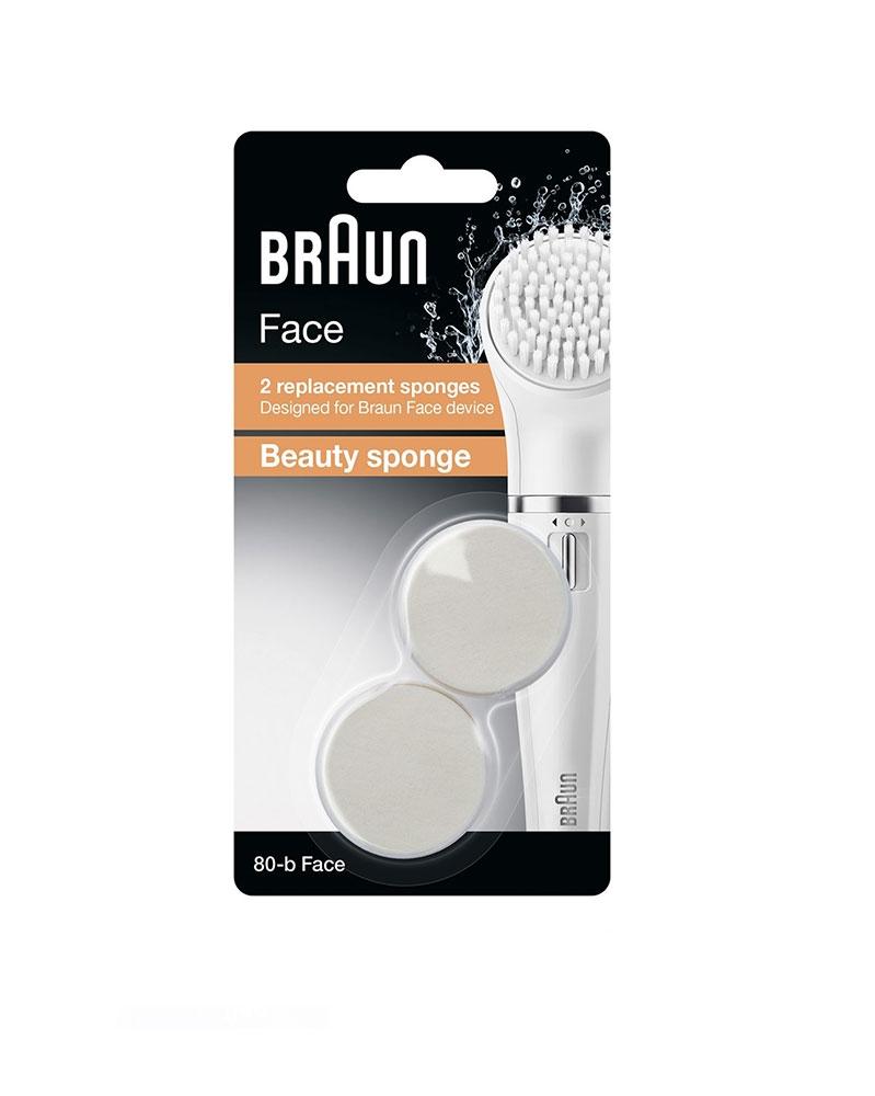 Éponge Nettoyante Visage SE80-B pour BRAUN Face