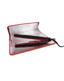 كوريوليس - مكواة الشعر التيتانيوم C1 النمرد الأحمر
