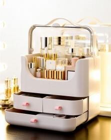 صندوق تخزين مستحضرات التجميل و المجوهرات