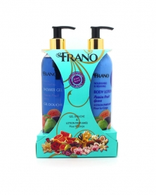 Coffret Gel douche & Lotion Parfumée Fruit de la Passion 400 ml