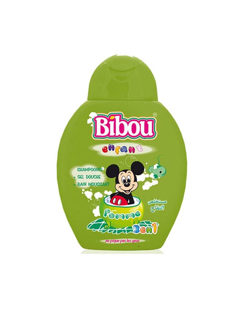 Shampoing Bibou Enfant 3 en 1 Pomme 280 ml