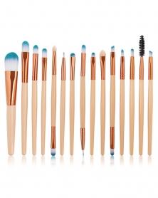 Ensemble de 15 Pinceaux de Maquillage Professionnels