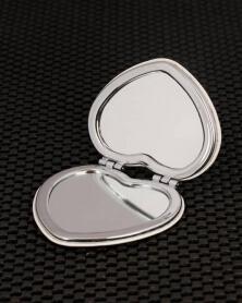 Miroir de Poche Forme Coeur Tour de Pise