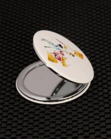 مرآة جيب دائرية جميلة