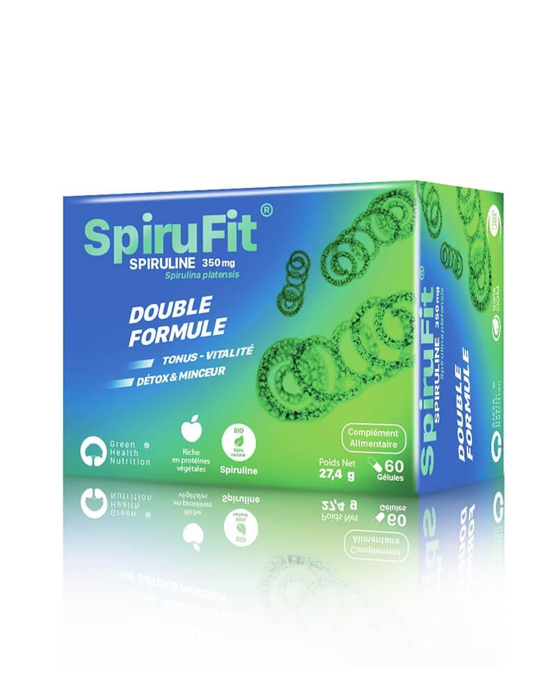Cure SpiruFit Tonus, Vitalité, Détox et Minceur - 3 x 60 Gélules