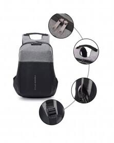 حقيبة ظهر مزودة بقفل وكلمة السر مع منفذ USB