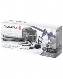REMINGTON - Lisseur Pro Céramique Titanium avec Accessoires