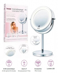 بيورر - مرآة مستحضرات التجميل المضيئة BS 55