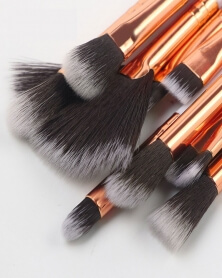 Ensemble de 10 Pinceaux de Maquillage marbré