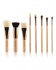 Kit Beauté de 8 Pinceaux de Make Up Professionnels
