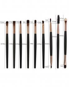 Nouveau Kit Beauté de 25 Pinceaux de Maquillage Professionnel