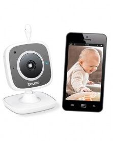 بيورر - جهاز مراقبة الأطفال عن بعد بالفيديو بالهاتف و الكمبيوتر BY 88