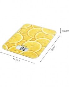 بيورر - ميزان مطبخ بتكنلوجيا ذكية KS 19 Lemon