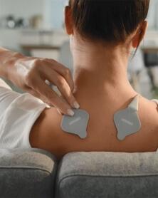 أومرون - جهاز التنشيط و التسخين والتحفيزالكهربائي HEAT TENS ضد الألم