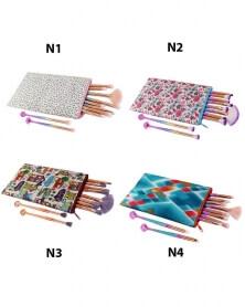 حقيبة تخزين فرش الماكياج و مستحضرات التجميل N3