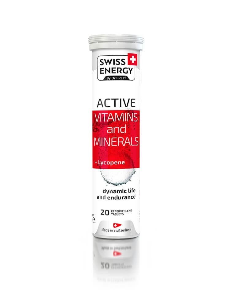 SWISS ENERGY - Vitamines et Minerales