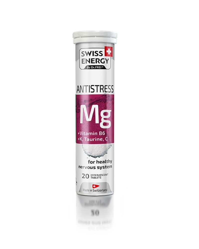 SWISS ENERGY - Vitamine Magnésium Anti Stress Complexe (B6,K,Taurine,C)