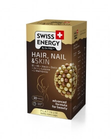 SWISS ENERGY - Vitamine Cheveux, Ongles et Peau