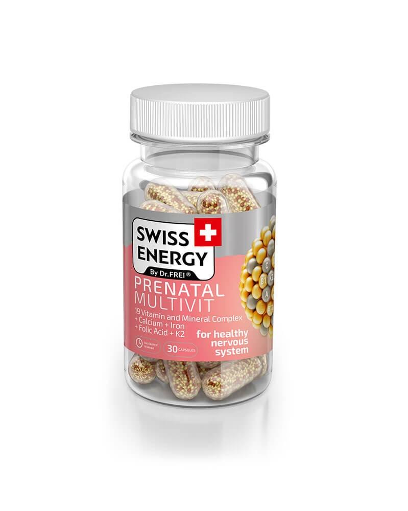 SWISS ENERGY - Vitamine Prénatal Multivitamine