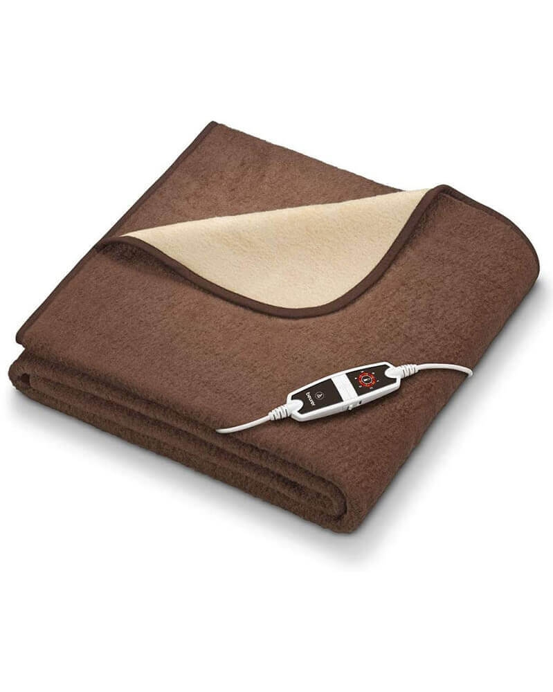 بيورر - بطانية بوظيفية التسخين و التدفئة كبيرة و لينة جدا HD 100