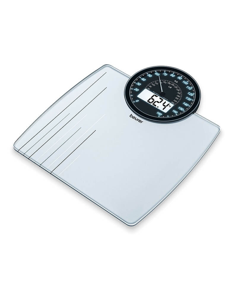 بيورر - جهاز قياس الوزن زجاجي بتصميم حديث MS 58